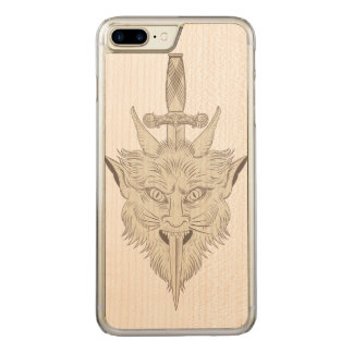 Gargoyle Illustration Carved iPhone 8 Plus/7 Plus Case