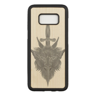 Gargoyle Illustration Carved Samsung Galaxy S8 Case