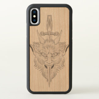 Gargoyle Illustration iPhone X Case