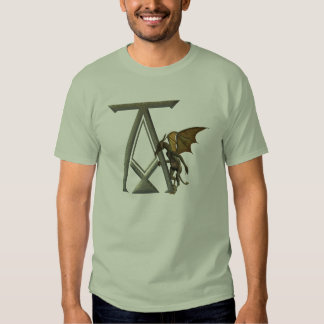 Gargoyle Monogram A Tee Shirts