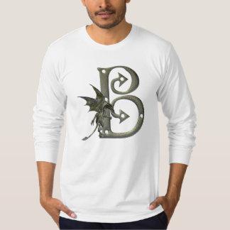 Gargoyle Monogram B Tee Shirt
