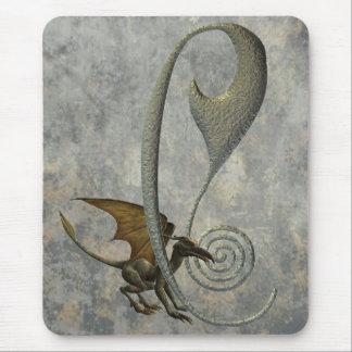 Gargoyle Monogram C Mouse Pad