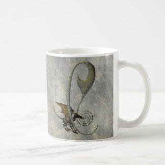 Gargoyle Monogram C Mugs