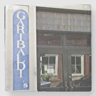 Garibaldi Cafe, Savannah, Georgia Marble Coaster
