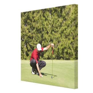 Garibaldi Springs Golf Course, Squamish, B.C. Stretched Canvas Print