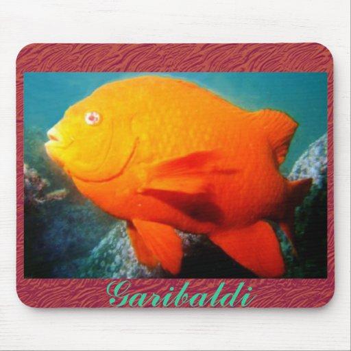 Garibaldi Topical Fish Mousepad Mouse Pad