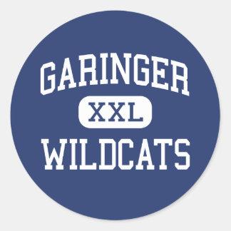 Garinger - Wildcats - High - Charlotte Round Stickers