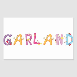Garland Sticker