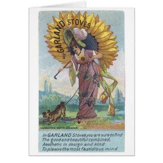 Garland Stoves Greeting Card