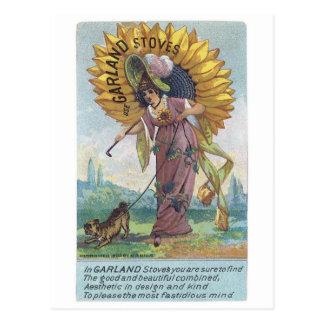 Garland Stoves Postcard