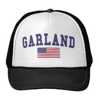 Garland US Flag Cap