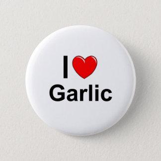 Garlic 6 Cm Round Badge