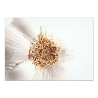 Garlic bulb 13 cm x 18 cm invitation card