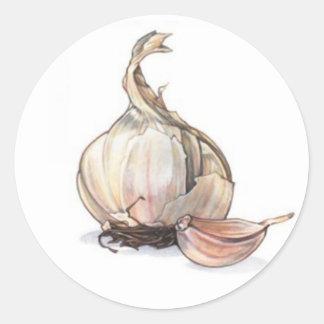 Garlic Garden Label