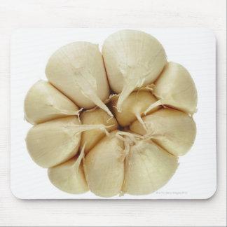 Garlic  isolated on white background, DFF image, Mouse Pad