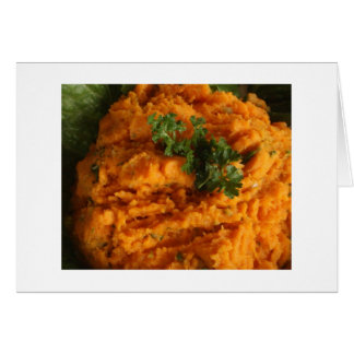 Garlic Mashed Yams Card