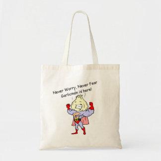 Garlicman Tote Bag