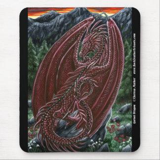 Garnet Dragon Mousepad