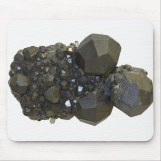 Garnet in Natural Form Mouse Pad