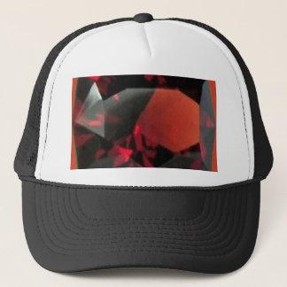 GARNETJANURARY GEMSTONE TRUCKER HAT