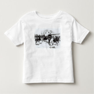 Garret brings in Billy the Kid, 1880 Toddler T-Shirt