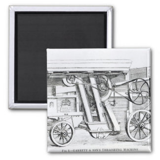 Garrett and Sons Patent Combined Threshing Square Magnet