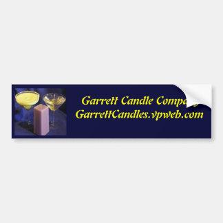 Garrett Candle CompanyGarrettCandles.vpweb.com Bumper Sticker