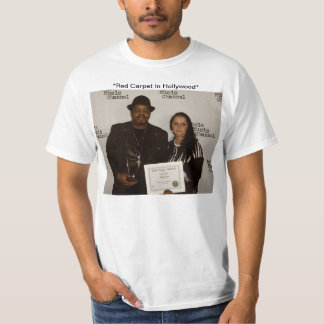 """Garry & Carmen Moore On Red The Carpet"" T-Shirt"