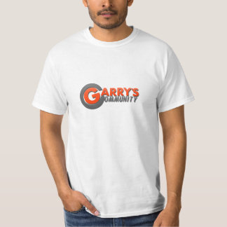 Garrys Community Orange Logo T-Shirt