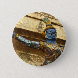 Garuda alone 6 cm round badge