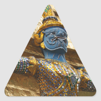 Garuda alone triangle sticker