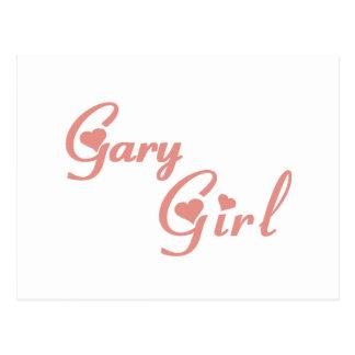 Gary Girl tee shirts Postcard