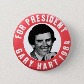 Gary Hart - Button