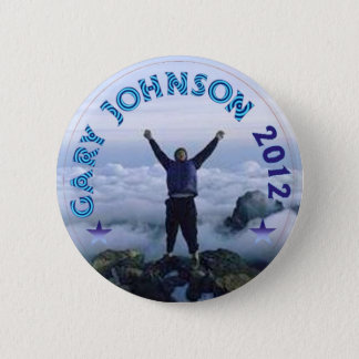 Gary Johnson 2012 6 Cm Round Badge