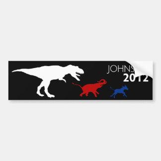 Gary Johnson 2012 Bumper Sticker Black