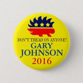 Gary Johnson 2016 6 Cm Round Badge