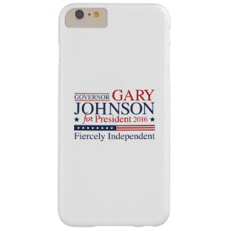 Gary Johnson 2016 Barely There iPhone 6 Plus Case