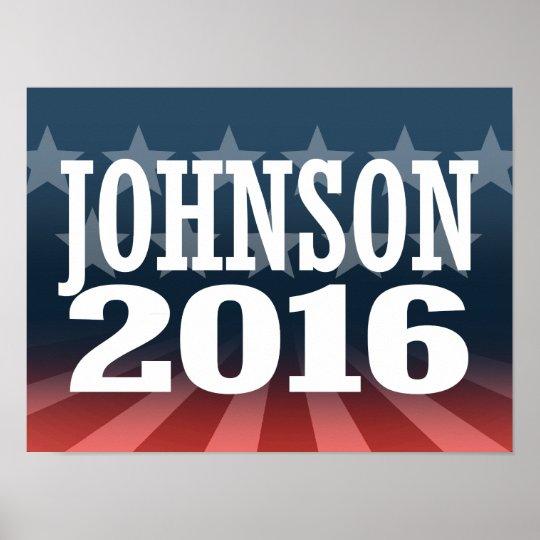 Gary Johnson 2016 Poster