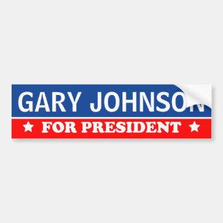 Gary Johnson For President 2016 Bumper Sticker