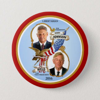 Gary Johnson for President 7.5 Cm Round Badge