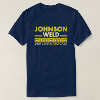 Gary Johnson / Weld Libertarian Party Dark T-Shirt