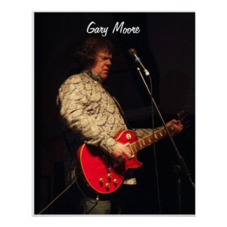 Gary Moore Poster