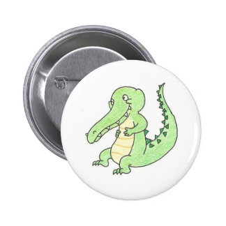 Gary the Gator button