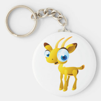 Gary The Gazelle Key Ring