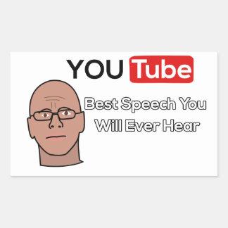 Gary Yourofsky Speech Stickers
