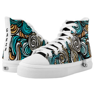 Garza Swirl High Tops