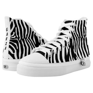 Garza Zebra Shoes