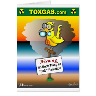 Gas Can Canary Greeting Card