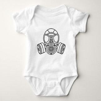 Gas Mask Baby Bodysuit