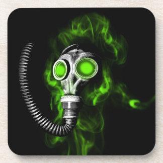Gas mask coaster